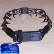 Ultra-Plus Erziehungshalsband 2,25mm 40cm (Edelstahl brüniert) mit ClickLock