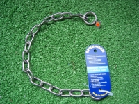 Halskette medium 2 Ringe (Edelstahl) L=39cm