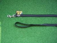 gummierte Sportleine 14mm breit 1,20m mit Handschlaufe