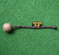 K9-Ball 50mm mit Schnur / Knoten
