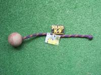 K9-Ball 60mm mit Schnur / Knoten