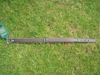 Lederhalsband Super Soft braun / cognac L= 42cm