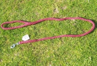 Führleine 12mm stark 1,20m lang Farbe: rot