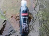 Hundeshampoo für schwarzes Fell