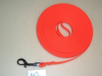 Biothane Schleppleine 10m 9mm orange