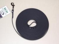 Biothane Schleppleine 10m 16mm schwarz