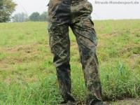 BW Feldhose Flecktarn Grösse 9