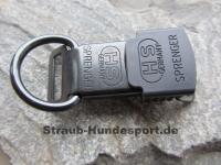 ClicLock mit D-Ring (Edelstahl schwarz)
