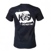 K9 T-Shirt DO NOT PET schwarz Grösse: XL