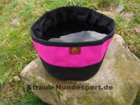 Reisetrinknapf 2L schwarz / pink