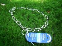 Halskette Edelstahl verstellbar 55cm mit Karabiner