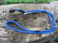 verstellbare Führleine Freestyle blau