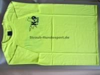 K9 T-Shirt neongelb Grösse: XL