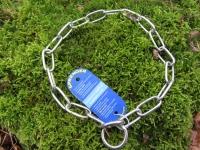 Langgliedkette mit 2 Ringen Edelstahl 51cm