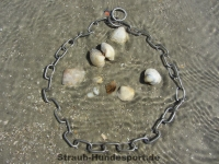Halskette medium 2 Ringe (Edelstahl matt) L=44cm
