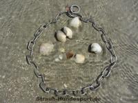 Halskette medium 2 Ringe (Edelstahl matt) L=55cm