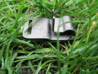 Mittelglied Neck-Tech-Sport Edelstahl schwarz matt