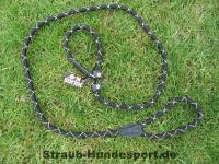 Retrieverleine rund 1,2m 12mm schwarz Julius-K9
