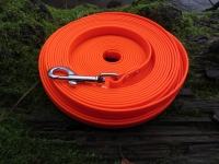 Biothane Schleppleine 15m 16mm orange