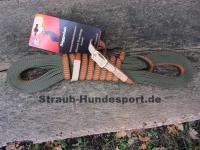 Niggeloh Schweißleine orange-oliv 15mm L=12m