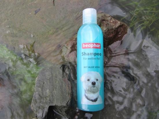 Hundeshampoo von Beaphar für weisses Fell