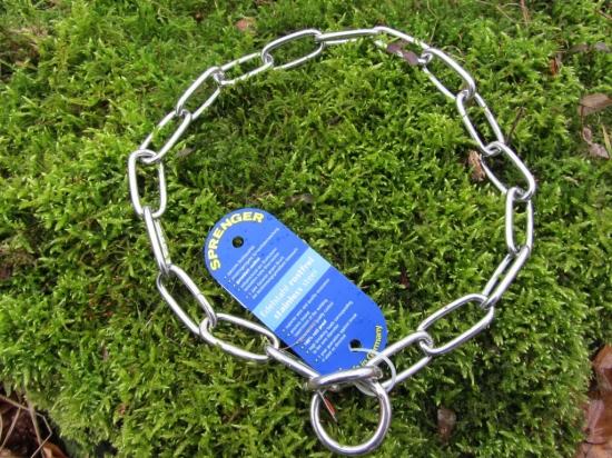Langgliedkettenhalsband aus 4mm starkem Edelstahl