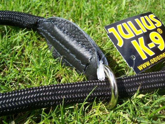 Retrieverleine 1,2m schwarz von Julius-K9
