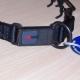 Ultra-Plus Erziehungshalsband 3,2mm 52cm (Edelstahl brüniert) mit ClickLock