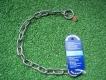 Halskette medium 2 Ringe (Edelstahl) L=50cm