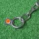 Halskette medium 2 Ringe (Edelstahl) L=44cm