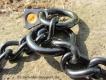 Kettenhalsband runde Glieder Edelstahl schwarz 3mm 55cm