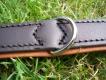 Lederhalsband Super Soft braun / cognac L= 52cm