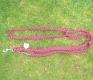 Führleine 12mm stark 2,30m lang längenverstellbar Farbe: rot