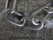Halskette medium 2 Ringe (Edelstahl matt) L=46cm GRAVIERT