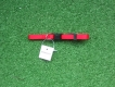 Welpenhalsband XS verstellbar 18-35cm rot
