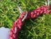 Halsband mit Zugstopp rot L=40cm 10mm