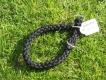 Halsband mit Zugstopp schwarz L=40cm 10mm