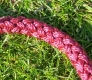 Halsband mit Zugstopp rot L=45cm 10mm