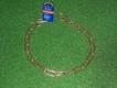 Langgliedkette mit 2 Ringen Curogan 58cm
