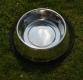 Edelstahlnapf mit Gummiring 2,8 l / Ø 24cm