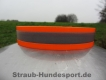 Biothane Warnhalsung Orange 25mm XL