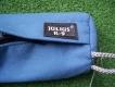 Futterbringsel mit Zippverschluss 30cm blau
