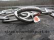 Langgliedkette mit 2 Ringen 4mm Edelstahl matt 59cm
