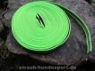 gummierte Nylonleine 20mm breit 15m ohne Handschlaufe Farbe: neon grün