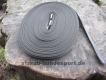 gummierte Nylonleine 20mm breit 15m ohne Handschlaufe Farbe: schwarz