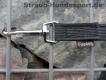gummierte Nylonleine 20mm breit 10m ohne Handschlaufe Farbe: schwarz