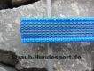 gummierte Nylonleine 20mm breit 1m ohne Handschlaufe Farbe: aquablau