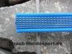 gummierte Nylonleine 20mm breit 1m ohne Handschlaufe Farbe: blau