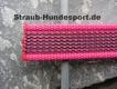 gummierte Nylonleine 20mm breit 1m ohne Handschlaufe Farbe: pink