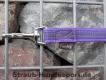 gummierte Nylonleine 20mm breit 1m ohne Handschlaufe Farbe: violet